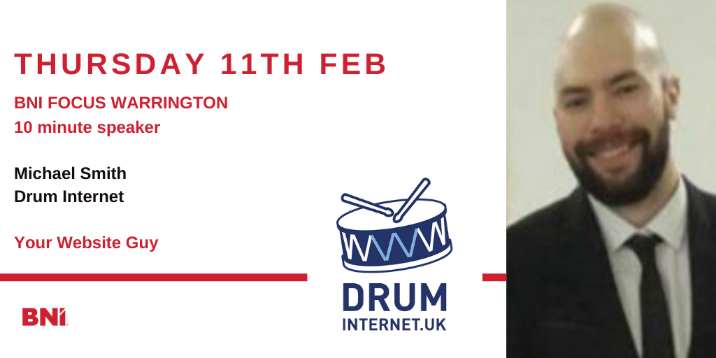 10 Minute Speaker – Mike Smith – Drum Internet