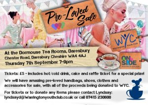 Social Events – Pre-Loved Event – 7th September